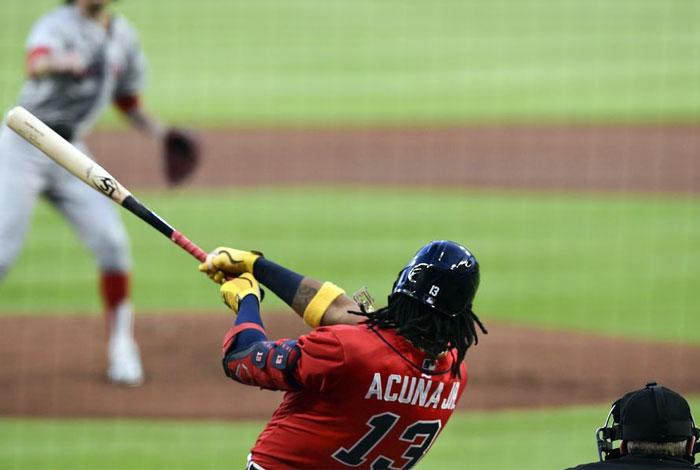 Ronald Acuña Jr. conectó el jonrón más largo de la temporada