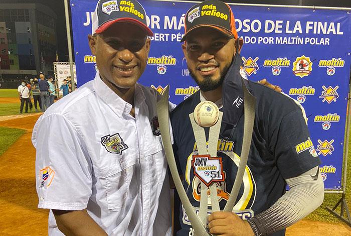 Robert Pérez y Luis Sardiñas