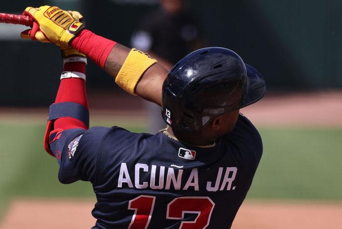 Acuña Jr. no irá a la lista de lesionados y se llevó el Jugador de la Semana