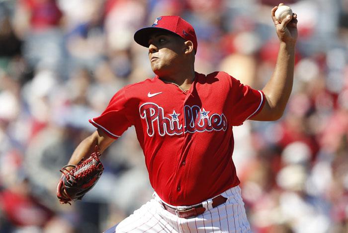 Ranger Suárez fue subido por Filadelfia