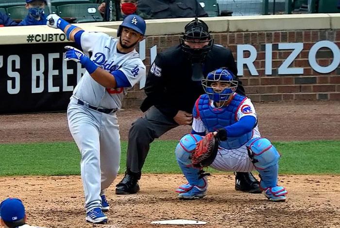 Los Dodgers bajaron al prospecto Keibert Ruiz