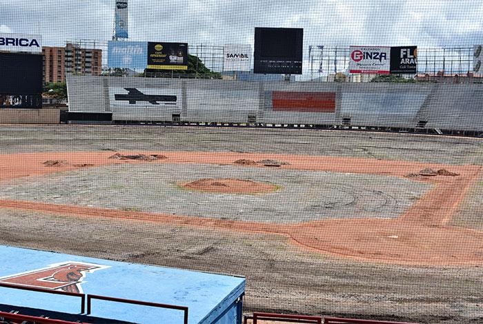 Cardenales realiza mejoras al Estadio Antonio Herrera Gutiérrez