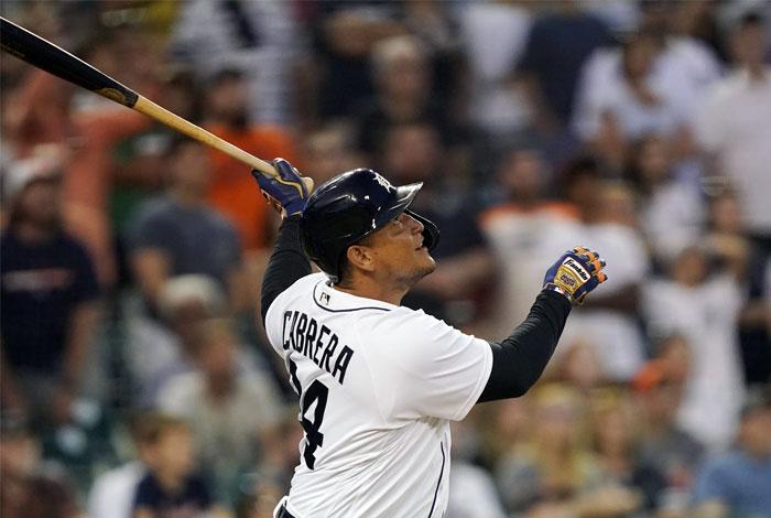 Cabrera se convirtió en el cuarto extranjero en MLB con 1.800 remolcadas